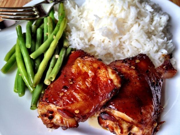 Asian-Inspired BBQ Chicken